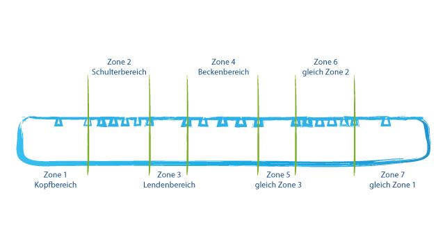 sieben zonen kaltschaummatratze