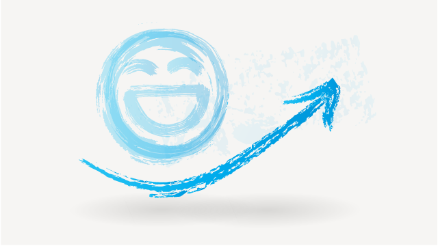 Energie Pfeil Smily
