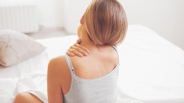 Nackenschmerzen bei Tempur