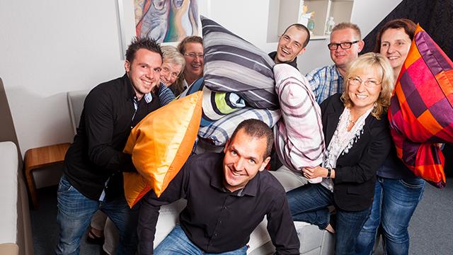 Kissenberatung Wuppertal Schlafraum Team
