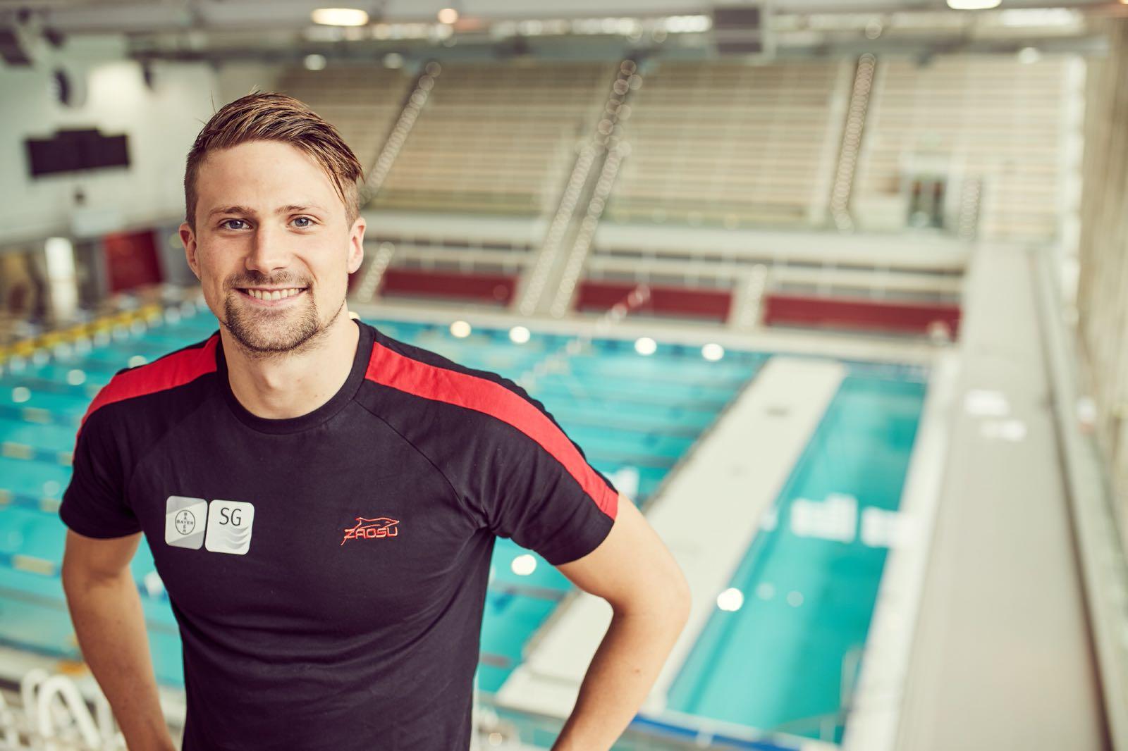 Schwimmer Christian vom Lehn